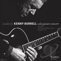 Burrell, Kenny - Tenderly CD Cover Art