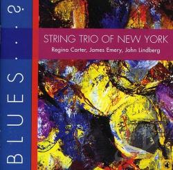 String Trio Of New York - Blues...?. CD Cover Art