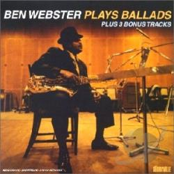 Webster, Ben - Plays Ballads CD Cover Art