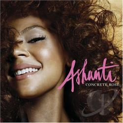 Ashanti - Concrete Rose CD Cover Art