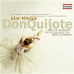 Minkus / Sofia National Opera Orchestra / Spassov - Leon Minkus: Don Quijote CD Cover Art