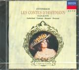 Domingo / Sutherland - Offenbach: Les Contes d'Hoffmann Highlights : CLA 679