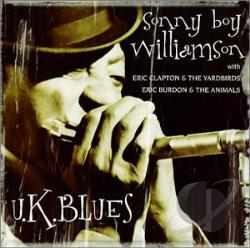Williamson, Sonny Boy - U.K. Blues CD Cover Art