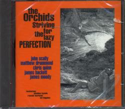 Orchids - Striving for the Lazy Perfection + Singles CD Cover Art