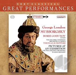 Schippers, Thomas - Mussorgsky: Boris Godunov (Excerpts); Pictures at an Exhibition CD Cover Art