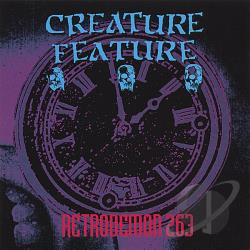 Creature Feature - Retrodemon 263 CD Cover Art