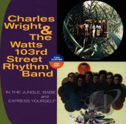 Wright, Charles - In The Jungle, Babe/Express Yourself CD Cover Art