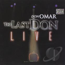 Omar, Don - Last Don: Live CD Cover Art