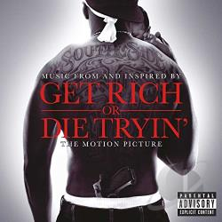 50 Cent - Get Rich or Die Tryin' CD Cover Art
