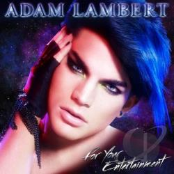 Lambert, Adam - For Your Entertainment CD Cover Art