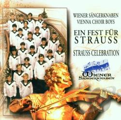 Vienna Choir Boys - Strauss Celebration / Gerald Wirth, Vienna Choir Boys CD Cover Art