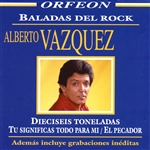 Vazquez, Alberto - Baladas Del Rock CD Cover Art