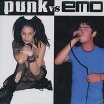 Punk vs. Emo CD Cover Art