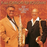 Holloway, Red / Johnson, Plas - Keep That Groove Going! CD Cover Art