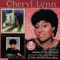 Lynn, Cheryl - In the Night/Instant Love CD Cover Art