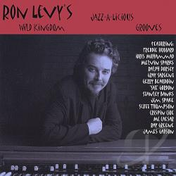 Levy, Ron - Jazz-A-Licious Grooves CD Cover Art