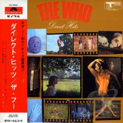 Who - Direct Hits CD Cover Art