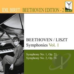 Beethoven / Biret - Beethoven: Symphonies Nos. 1 & 2, Vol. 2 CD Cover Art