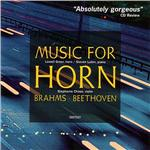 Lowell Greer / Lubin - Brahms, Beethoven: Music For Horn CD Cover Art