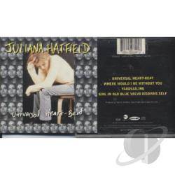 Hatfield, Juliana - Universal Heart-Beat CD Cover Art
