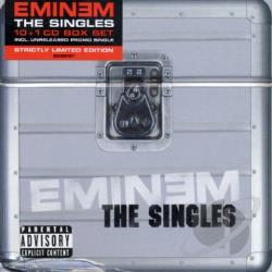 Eminem - International Singles CD Cover Art