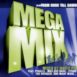 Piu, Mario - Megamix: From Dusk Till Dawn CD Cover Art