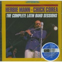 Mann, Herbie - Complete Latin Band Sessions CD Cover Art