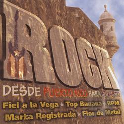 Rock - Desde Puerto Rico Para El Mundo CD Cover Art
