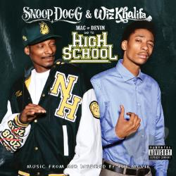 Khalifa, Wiz / Snoop Dogg - Mac + Devin Go to High School CD Cover Art