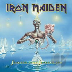 Iron Maiden - Seventh Son of a Seventh Son CD Cover Art
