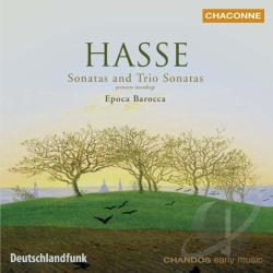 Epoca Barocca / Hasse - Hasse: Sonatas and Trio Sonatas CD Cover Art