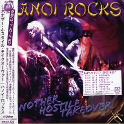 Hanoi Rocks - Another Hostile Takeover CD Cover Art