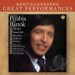 Bartok / Perahia, Murray - Murray Perahia Performs Bela Bartok CD Cover Art