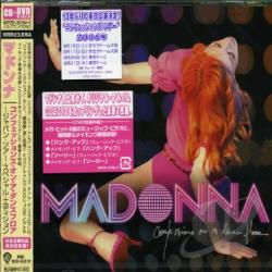 Madonna - Confessions on a Dance Floor CD Cover Art