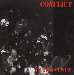 Conflict - In the Venue CD Cover Art