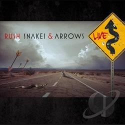 Rush - Snakes & Arrows Live CD Cover Art
