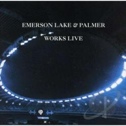 Emerson, Lake, And Palmer - Works Live CD Cover Art