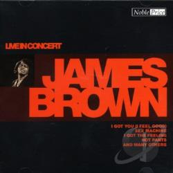 Brown, James - In Concert CD Cover Art