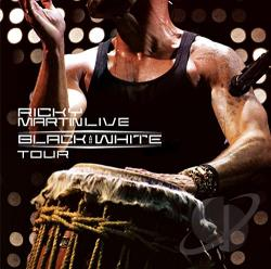 Martin, Ricky - Ricky Martin Live: Black and White Tour CD Cover Art