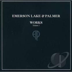 Emerson, Lake, And Palmer - Works, Vol. 1 CD Cover Art