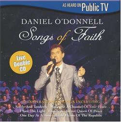 O'Donnell, Daniel - Songs of Faith CD Cover Art