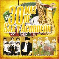30 Mas De Sax Y Accordeon CD Cover Art