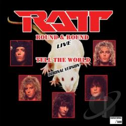 Ratt - Round and Round LP Cover Art