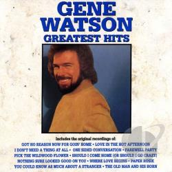 Watson, Gene - Greatest Hits CD Cover Art