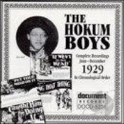 Hokum Boys - Complete Recordings: June-December 1929 CD Cover Art