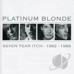 Platinum Blonde - Seven Year Itch: 1982-1989 CD Cover Art