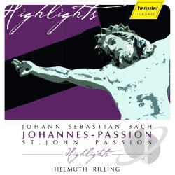 Bach / Banse / Goerne / Ingeborg / Schade / Taylor - Bach: Johannes-Passion Highlights CD Cover Art