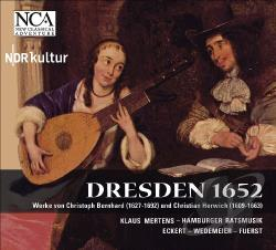 Bernhard / Eckert - Dresden 1652 CD Cover Art