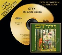 Styx - Grand Illusion CD Cover Art