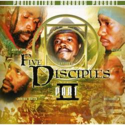 Capleton, Luciano - Five Disciples 2 CD Cover Art
